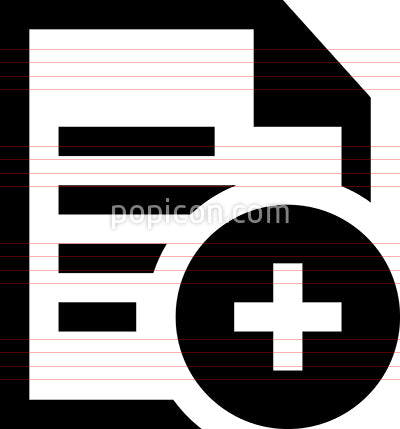 Add New Document Vector Icon