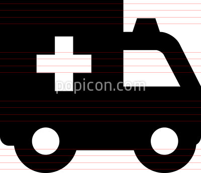 Ambulance Paramedic Vehicle Icon