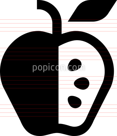 Apple Seeds Icon