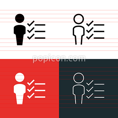 Applicant Icon Set