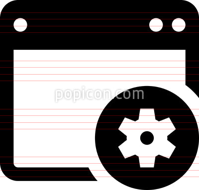 Application Programming Interface API Icon