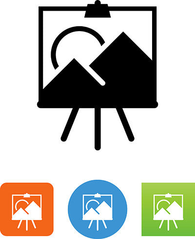 Art Easel Icon