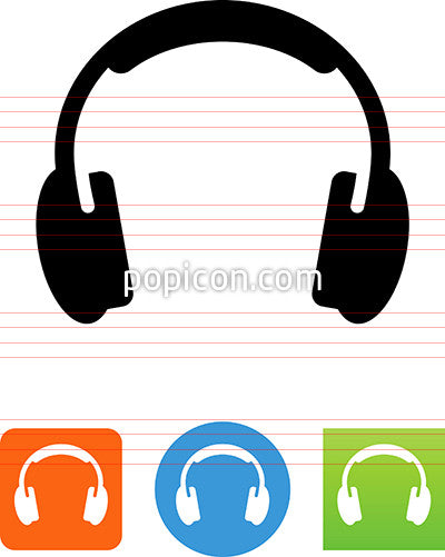Audio Headphones Icon