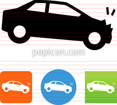 Auto Accident Icon