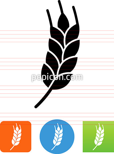 Barley Grain Icon