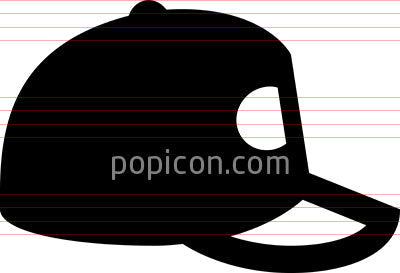 Baseball Cap Vector Icon