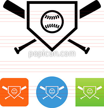 Baseball Logo Icon