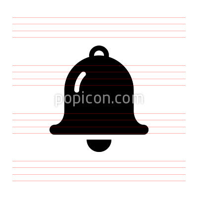 Bell Pixel Perfect Icon