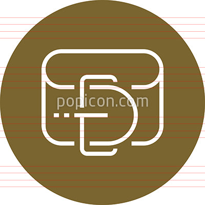 Belt With Buckle Clothing Outline Icon