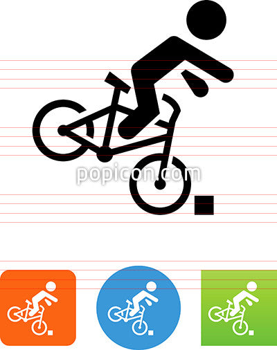 Bike Accident Icon