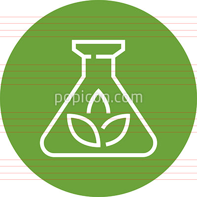 Biomass Organic Renewable Energy Outline Icon