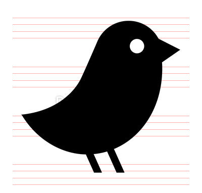 Bird - Pixel Perfect Icon