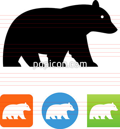 Black Bear Icon