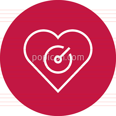 Blood Pressure Monitor Outline Icon