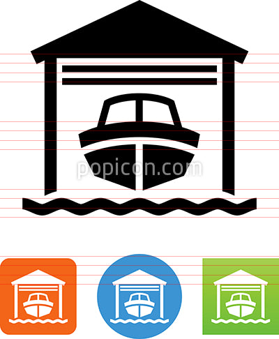 Boat Storage Icon