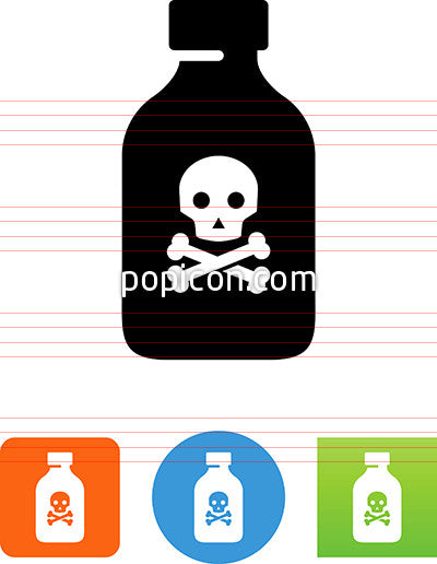Bottle Of Poison Icon