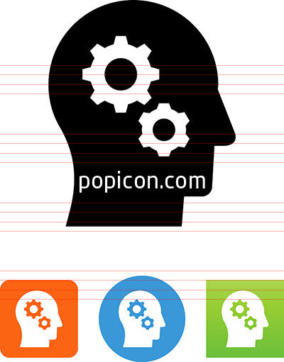 Brain Processing Icon