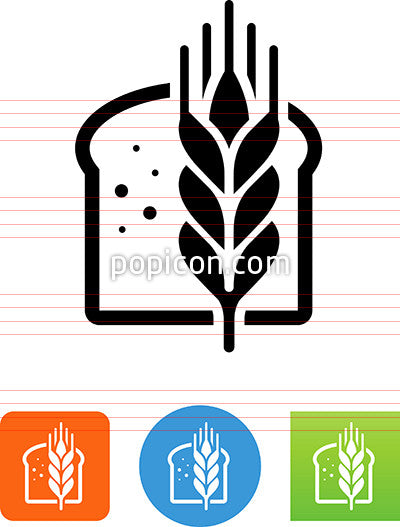 Bread And Grain Icon