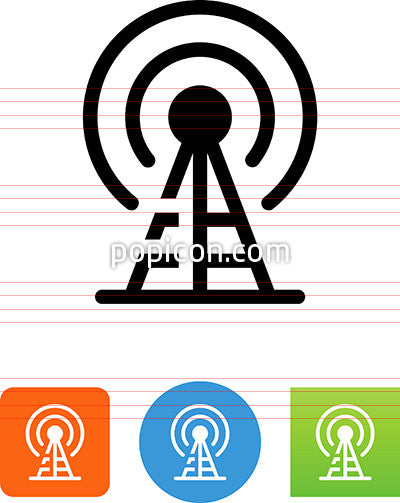 Broadcast Tower Icon
