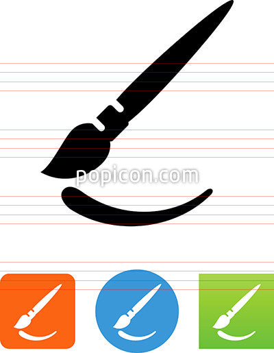 Brush Stroke Icon