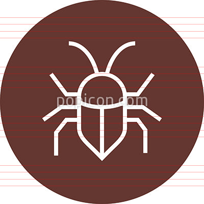 Bug Insect Pest Outline Icon