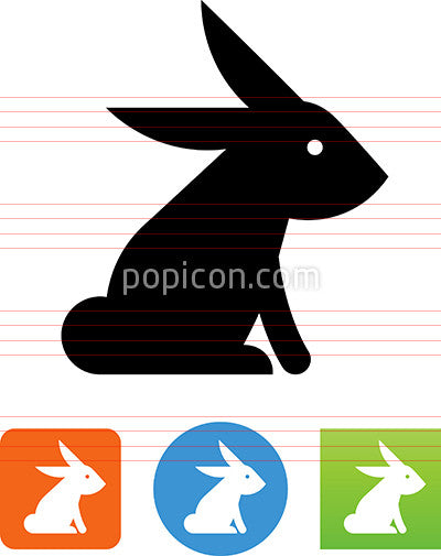 Bunny Rabbit Icon