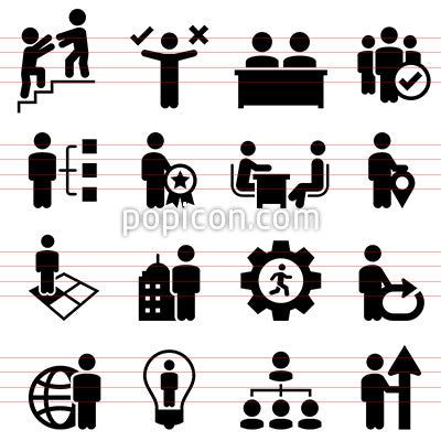 Business Human Resources Icons