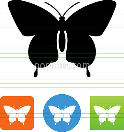 Butterfly Moth Icon