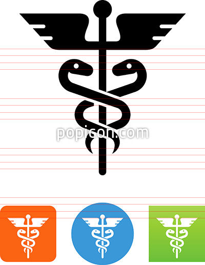 Caduceus Icon