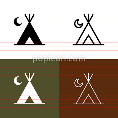 Campground Icon Set