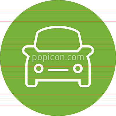 Car Auto Ride Outline Icon
