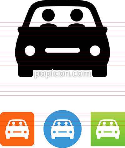 Car Pool Icon