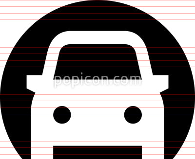 Car Tunnel Rapid Transit Icon