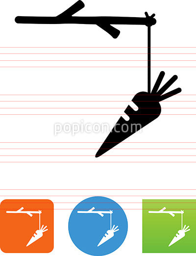 Carrot And Stick Icon