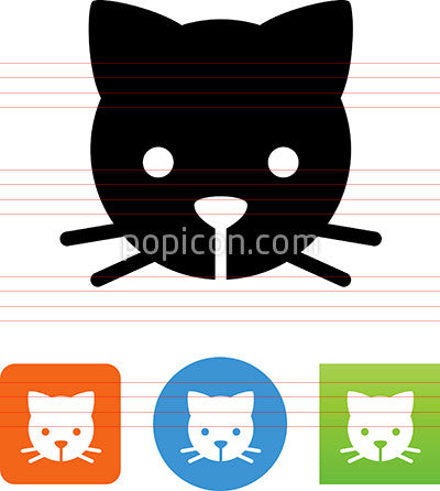 Cats Head Icon