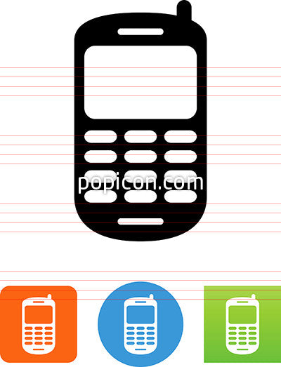 Cell Phone Icon >> Cell Phone Icon Popicon