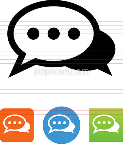 Chatting Message Icon