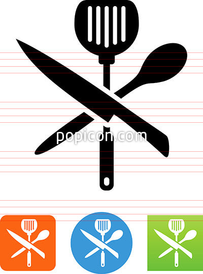 Chef's Tools Icon
