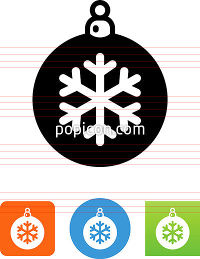 Christmas Ornament Icon