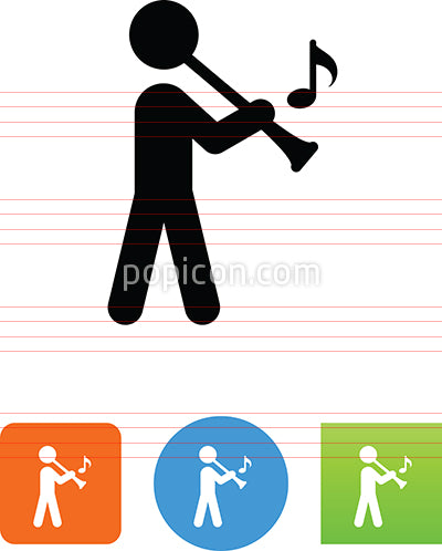 Clarinet Player Icon