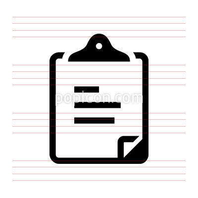 Clipboard Document