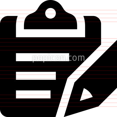 Clipboard Survey Audit Appraisal Vector Icon
