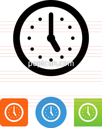 Clock Dial Icon