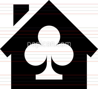 Clubhouse Gaming Vector Icon