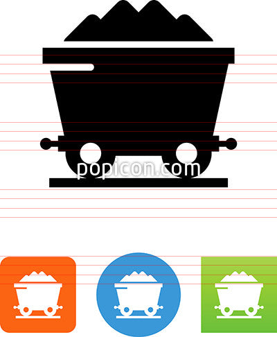 Coal Car Icon