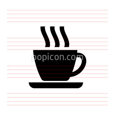 Coffee Cup With Aroma