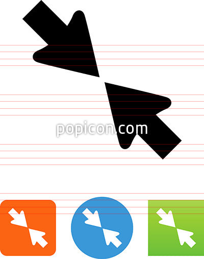 Compress Arrow Icon