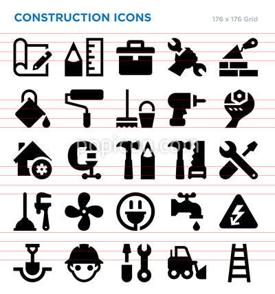 Construction Vector Icon Set
