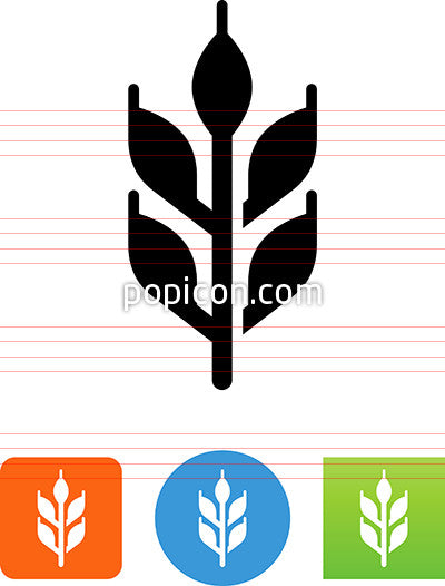 Corn Stalk Icon