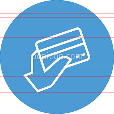 Credit Card Purchase Outline Icon